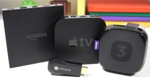 Chromecast ed Apple TV