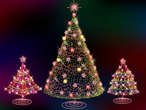3d-christmas-trees-hd-wallpapers